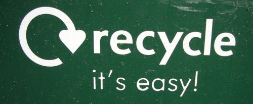 Just another friendly reminder to keep up that recycling! According to Harmony Enterprises, Inc., the US has had a 100% increase in recycling over the last ten years. If that sounds implausible, let's go for platinum and make it the truth!   Whether it's not buying anything new that isn't necessary, holding on to your plastic disposable soda cup instead of chucking into the trash can, making t-shirt grocery bags, or arts and crafts, recycling is an old yet always renewable concept.   Reduce and reuse, my loves.  References: http://harmony1.com/recycling-infographic/  Photo courtesy of www.simplystephen.ca
