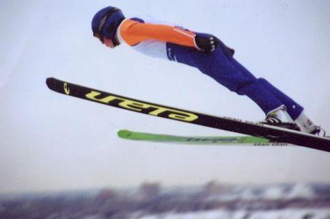 I am watching Ski jumping                                      Check-in to               Ski jumping on GetGlue.com