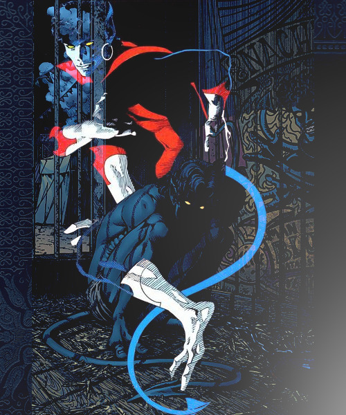[x] Bandwagon Graphic #20Nightcrawler (Marvel Universe) for falatke-badger