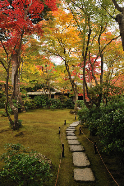 visitheworld:  Okochi Sanso Garden in Kyoto, Japan (by Yuki—chan).