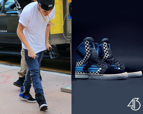 bieber-fashion:  Muska x Aoki | Supra Skytop Sneakers - $199.99 Available here.