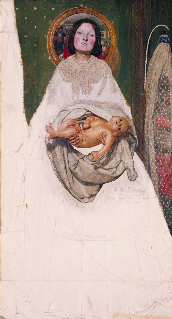 'Take your son, sir' by Ford Maddox Brown, via Google Art Project.
