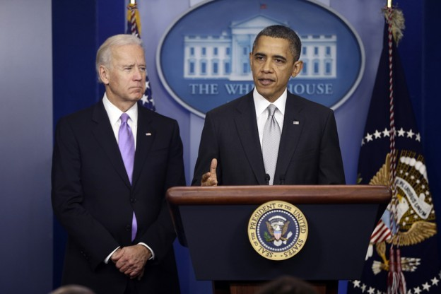 "shortformblog:  Today, President Obama announced sweeping set of policies, including 23 executive orders, aimed at reducing gun violence. The unveiling was the result of the Joe Biden-led task force Obama formed last month in the wake of the Sandy Hook shootings, and proposed policies include an assault weapons ban, universal background checks, and improved access to mental health care. The Washington Post calls it ""the most expansive gun-control policies in a generation,"" and the fact that the president issued no less than 23 executive orders suggests that he wants to avoid congress as much as possible with this (which, given his first term, is understandable). Here's the flashy White House document outlining the proposals, here's a list of the executive orders (one of which, somewhat amusingly, is ""Nominate an ATF director""), and here's audio of the event (courtesy of Matt Keys). Photo credit: AP source"