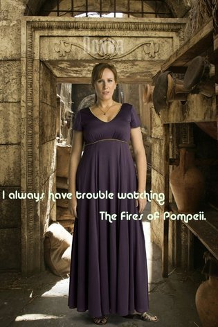 "I always have trouble watching ""The Fires of Pompeii"", because I know so much about Roman culture that I spend the entire episode mentally cataloging what's wrong about the portrayal of Pompeii instead of noticing the pure BAMF awesomeness of Donna Noble. Same goes for ""The Pandorica Opens"". submitted by mymindpalaceisatardis"