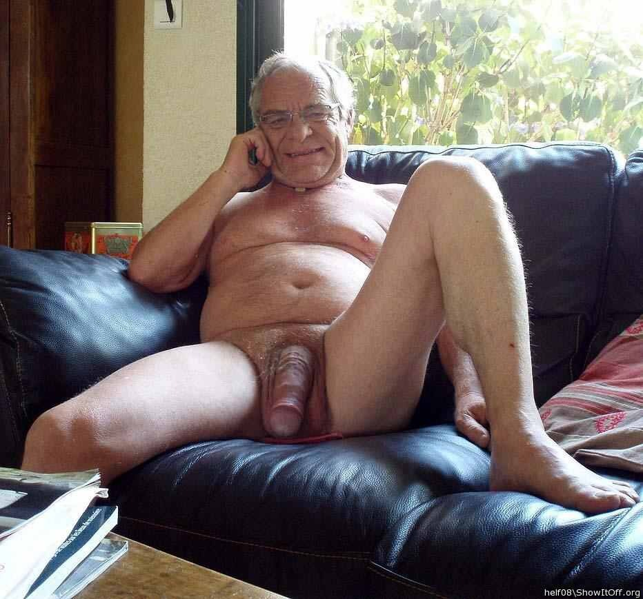 Naked Gay Grandpa 12