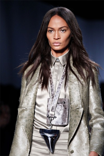rrrusskaya:  Joan Smalls at Givenchy Ready to Wear Spring - Summer 2012.
