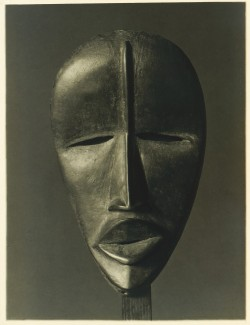 Dan Mask.Photograph (1918) by Charles Sheeler. Found here.