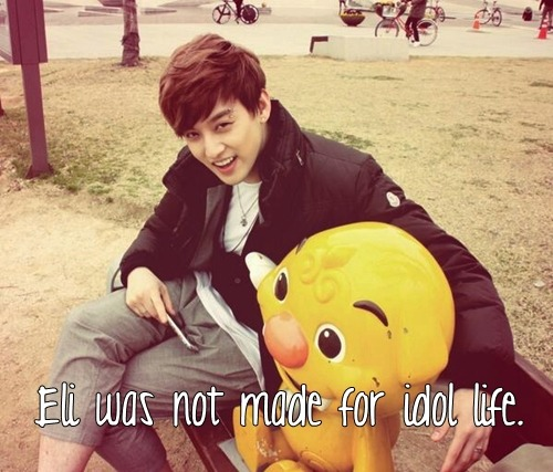 Eli was not made for idol life.  ehhh??