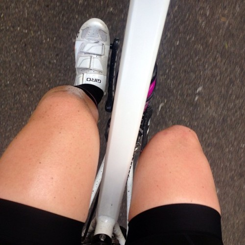 An Embro tan and the new Rapha Women's bib shorts contributed to today's ride being most wonderful