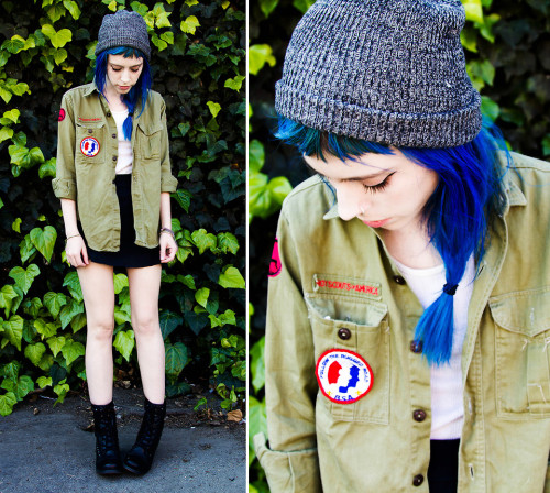 lookbookdotnu:  Boy Scout (by Madeline Pendleton)