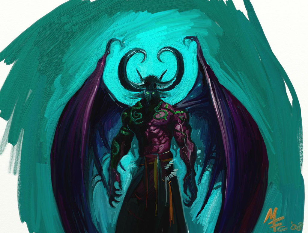 """Illidan Stormrage"" by Manufc1983"