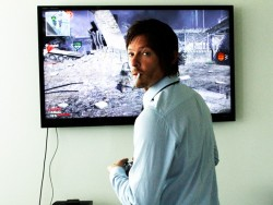 id play video games with him hahah