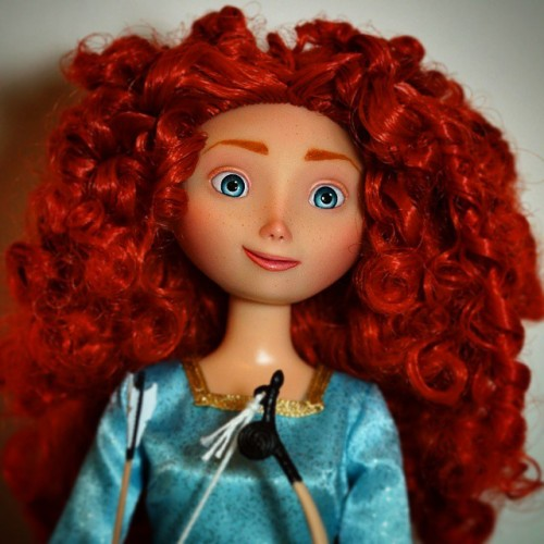 How To Paint Merida S Hair Acrylic