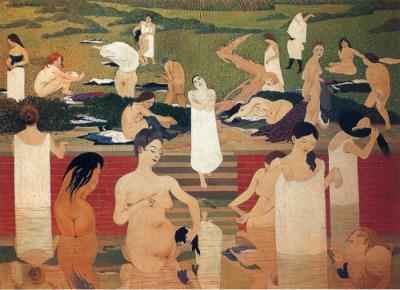 Félix Vallotton- Le Bain au Soir D'été, 1892