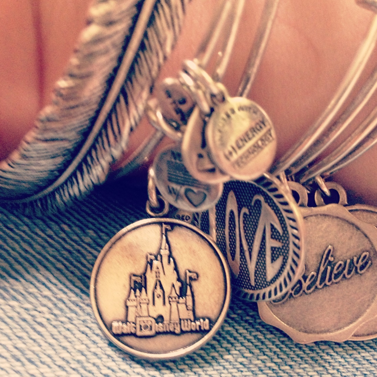 xxosimplyme:  Alex and Ani I got at magic kingdom :)