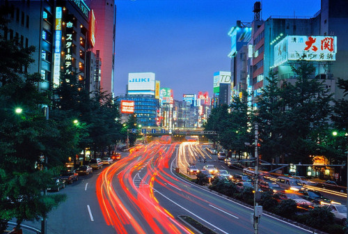 Japan Street by vanson on Flickr.