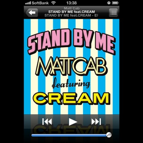 New jam!! STAND BY ME feat. CREAM 配信スタート‼ #GET iTunes DL→https://itunes.apple.com/jp/album/stand-by-me-feat.cream-ep/id632557517 Check out the full audio on YouTube→www.youtube.com/mattcabtv