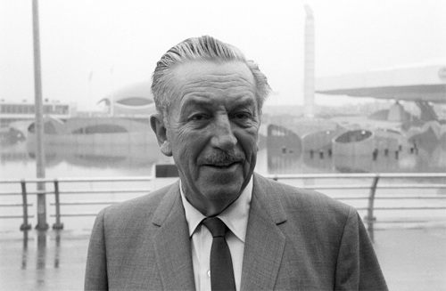 dapperwalt:  Walt Disney at the New York World's Fair