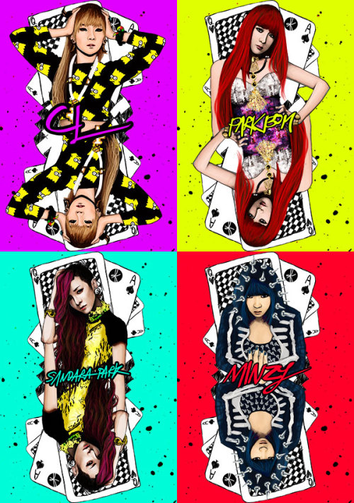 2NE1!!!!!! Finally finish!!!!!! T^T  Available as phonecase as always!!! haha  https://www.etsy.com/shop/flyingtoenail ig : @summonflyingtoenail ig : @padivv