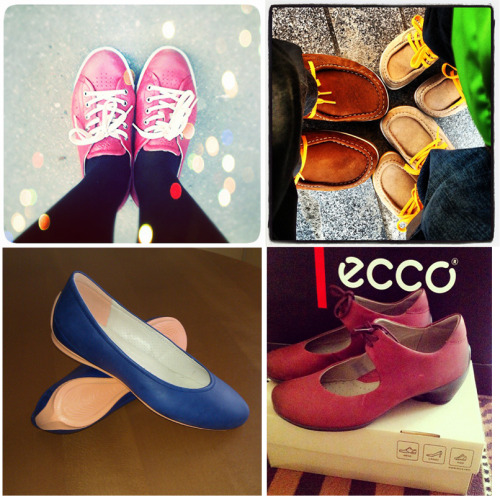 Today we celebrate our passionate ECCO fans. Thank you for sharing you favorite styles with us.