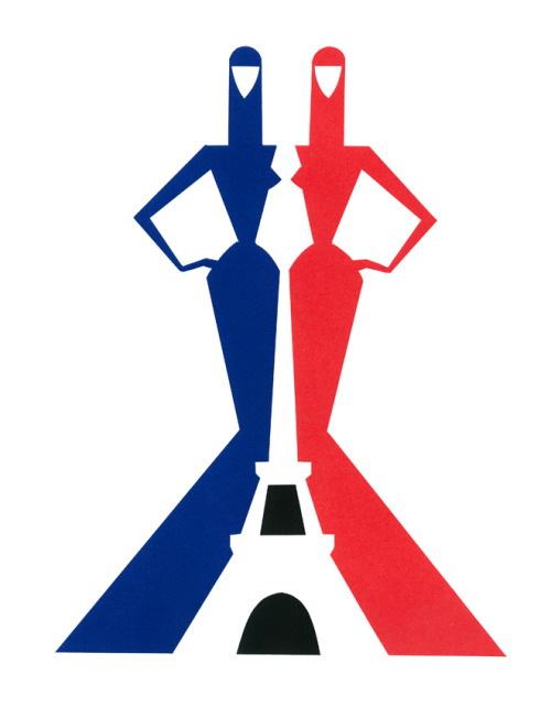 The genius Piet Paris for the french office of tourism