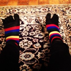 Words cannot describe how much I love toe socks. It's a sick obsession. Lol