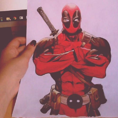 #deadpool #drawing #stuff #sketch