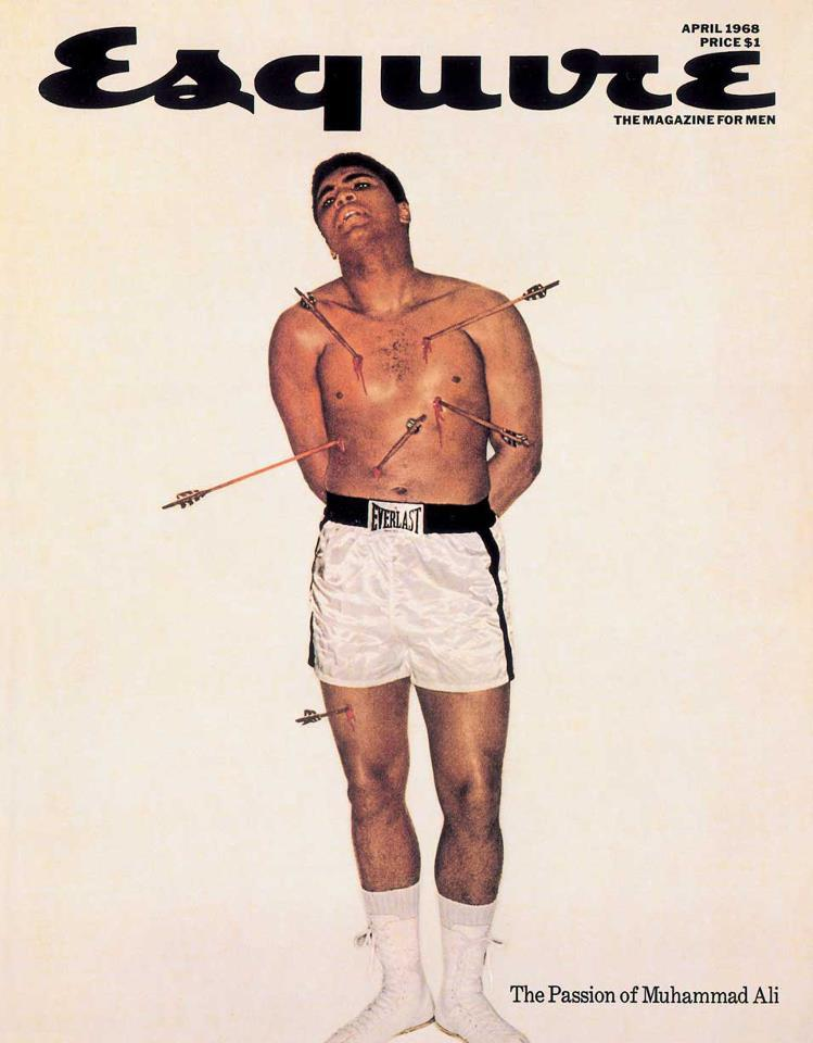 Muhammad Ali Esquire Cover 1968