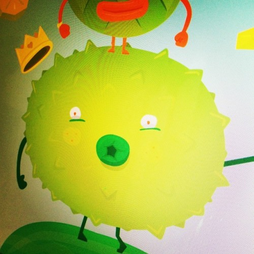 Le king of fruit! WIP #illustration