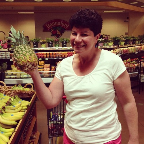 Food shopping with #MamaSedge. She's giddy about all the sales. #hilarious (at Hannaford)
