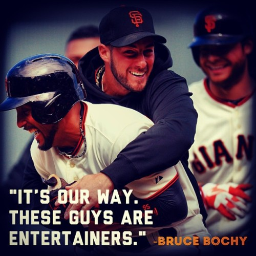 Of the #SFGiants 20 wins this year, 5 of them have been #walkoff victories