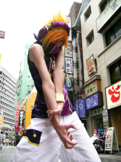 Neku Sakuraba - The World Ends With You  this photoshoot was held in Shibuya - Japan! it was so cool! ph. Mônica Somenzari