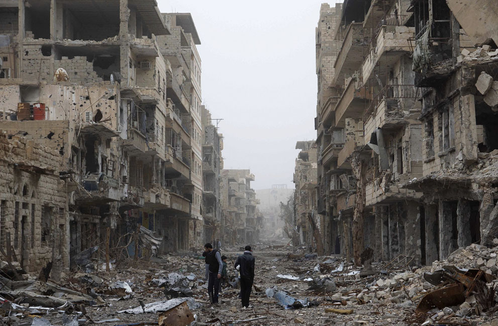 (via Syria in Ruins - In Focus - The Atlantic)