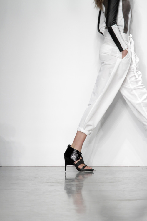 STRAIGHT FROM THE RUNWAY Our Spring 2013 Shoes have arrived in stores and on helmutlang.com.