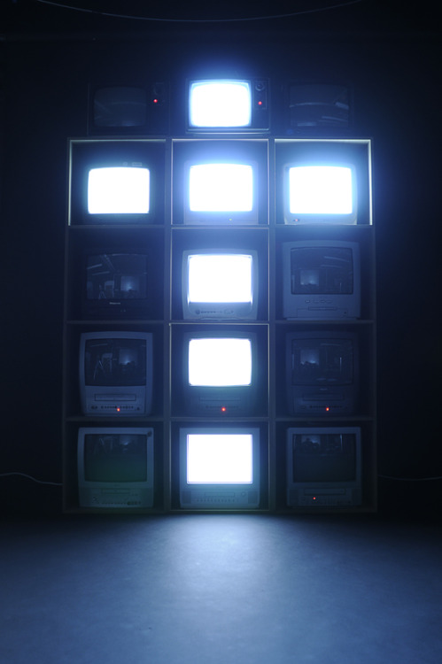 showslow:  Bitmap Television Alphabet by Jack Archer