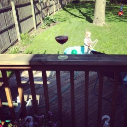 After school/work pool parties and Pinot on ice. Classy as it gets.