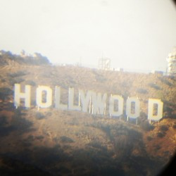 The Hollywood sign #California