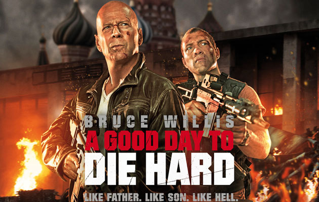 "A GOOD DAY TO DIE HARD (2013) A Good Day to Die Hard is the fifth installment in the Die Hard franchise, with Bruce Willis' John McClane traveling to Russia in an attempt to reconnect with his estranged son, Jack (played by Jai Courtney). Unfortunately Jack has taken after his father's tendency to get into bad scrapes, and turns out he's up and joined the CIA as a spy working to extract an important asset, Komarov, from certain death. Komarov claims he has information on Chagarin, a Russian power player who has a reputation for bankrolling and masterminding various terrorist activities. Naturally, Chagarin wants Komarov dead, and it is up to Jack McClane to ensure his safe passage from the country. Jack's operation hits a detour when his father crashes the party, which leads to Komarov being captured. Despite the obvious yet unexplained animosity between father and son, John McClane Sr and Jr team up to rescue Komarov. While the film doesn't necessarily sound bad on paper, its execution is a monumental disaster. This may come as no surprise to many, given that the film was directed by Max Payne's John Moore and written by X-Men Origins: Wolverine's Skip Woods, both men having committed some egregious crimes against humanity with their awful movies, and who really just went batshit crazy (for lack of a better phrase) with this film. A Good Day to Die Hard is 90 minutes of your life you will never get back, so mind-numbingly awful it almost makes you want to stab your feet with broken glass while hobbling out of the theater. [[MORE]] From the second the opening credits appear, the film plunges directly into a terrorist plot without bothering to set up the story. There, right out of the gate, is the film's central problem. It thinks the franchise is all about blowing stuff up and the inclusion of various other mindless action sequences. Writer Skip Woods clearly had no regard for plot or character development, unsurprising considering he committed the same debauchery with X-Men Origins: Wolverine (look at what he did to Deadpool and tell me that wasn't a crime worthy of being flogged). There really is no other way to put it except to say that the film's plot was stupid. There was an attempt to hatch a conspiracy and a really miserable effort to introduce an unexpected twist to the audience, neither of which were successfully pulled off. Not to mention that the film was riddled with the most pathetic character stereotypes I've ever seen in an action movie. At one point in the film, the villain Alik, played by Rasha Bukvic, has both McClane's captured, awaiting execution by his hand. Alik, in classic villain style, goes on a diatribe about how he hates Americans. He deplores cowboys especially, he says and adds, rather cockily, that ""It's not 1986 anymore, you can't just run in guns blazing,"" perhaps in reference to the original Die Hard, released around the same time. What makes this line laughable is that the original Die Hard was much smarter and way more entertaining than its incredibly disappointing 2013 counterpart.  So right at conception, this film had a slew of issues. I don't believe the writer understood John McClane or the Die Hard series. What made John McClane such an interesting character is that he's an unlikely hero. With a devil-may-care attitude, he's a man who you know you can count on to save the day, but who really could not care less if there wasn't something more personal at stake. In the original Die Hard, McClane isn't on the rampage because he cares about these rich hacks at the Nakatomi Corporation. In fact, he just happened to be there because he was trying to reconcile with his estranged wife. The way I see the original Die Hard, it's a domestic situation that just so happened to be interrupted by a terrorist plot. Throughout the film, McClane often feels as though he's saving the day because he just wants to finish the conversation he had with his wife. Not only is this an interesting angle for an action movie, but it also provides some good motivation for the main character, who audiences will only undoubtedly root for given that he is forced into this situation but never intended to be right smack in the middle of it. A Good Day to Die Hard, on the other hand, while it utilized some of the same conventions in the original (reconciliation with a loved one as motivation, wrong place at the wrong time, terrorist plot), the movie felt so alien, echoing how out of place this film is in the Die Hard universe. Even the inclusion of the famous line ""Yippee-ki-yay, motherfucker"" seemed totally out of place in this movie, proving that A Good Day to Die Hard just isn't a Die Hard movie, and audiences would do well to ignore it completely from the series and just strike it entirely from the record.   One of the reasons this film was so disappointing was that it was absolutely devoid of humor. Bruce Willis was given a series of one-liners that were neither funny nor clearly audible, as he hulks down a busy highway in a truck, chasing down criminals. It was a complete waste of Bruce Willis' badassery, which is completely unacceptable. The man is an icon of action movies, yet this movie makes his character feel outdated and irrelevant. Speaking of wasted talent, Jai Courtney, who was fantastic in Starz's Spartacus series, played John McClane Jr. or Jack. Courtney has unfortunately been reduced to lesser roles in action films, starting with the Tom Cruise-led Jack Reacher and now with the newest Die Hard installment. Courtney has proven himself an excellent actor, but his film roles have saddled him with characters who are one-dimensional and uninteresting. Apart from wasting a totally good actor like Courtney, there was also the matter of a criminally underused Mary Elizabeth Winstead, who was in the film for all of two minutes, playing the fretting daughter who was essentially there to say ""Aw shucks, dad"" at Bruce Willis' propensity to get into crazy, life-or-death situations.  The epic failure of this movie really speaks to the way action movies are made in the digital age, where a concrete and coherent plot is ditched in favor for explosions and showy special effects. At one point I closed my eyes for about 5 minutes and all I could hear was rapid gunfire and not much else. I could have slept through the film and would not have missed a thing. This whole idea of bigger and louder being better is abused in A Good Day to Die Hard. It almost sets back action movies a bit, because it seems to underestimate audience intelligence and attention, serving up mindless violence after an another because anything smarter would be dull when in fact, it's the exact opposite. An action movie does not have to be dumb. It does not have to sacrifice solid characters and a well thought out story for the biggest, baddest explosions or drawn out chase sequences. While we have certainly seen advancements in technology that allow us to do more, especially with actions films, we often use them as a crutch when we don't have a good story to tell. A Good Day to Die Hard is a horrible movie, and it pains me to say this as someone who derived immense enjoyment from the original and still has a special place in her heart for one of the original action heroes, John McClane. But maybe we should put nostalgia aside for a moment and just be honest with ourselves. Perhaps the Die Hard franchise would actually benefit greatly from just staying dead."