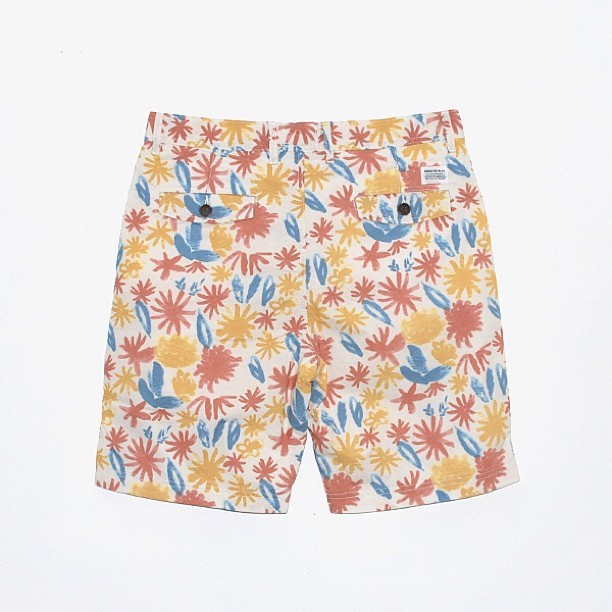 Which colourway is the pick of these Norse botanical shorts?