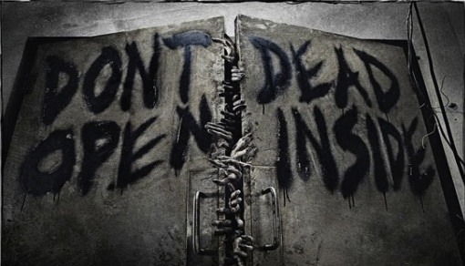 theinevitablezombieapocalypse:  Don't Open Dead Inside after-torture-theres-pain:  Gotta love The Walking Dead, great show.   Don't DeadOpen Inside
