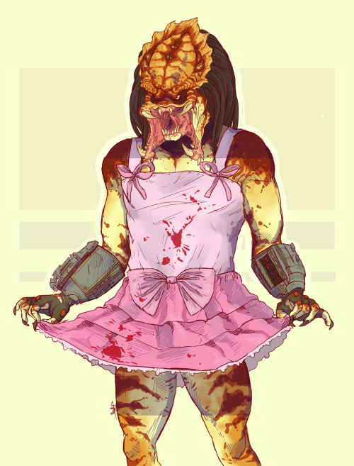 sealprinceling:  monsteroll:  krocatoo:  You just got blood on my dress. Prepare to die (⊙‿⊙✿)  Holy shit, I had to post that!  LOLLLLLLLLLLLLLLL