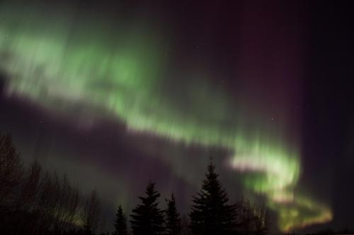 St. Patricks day aurora.
