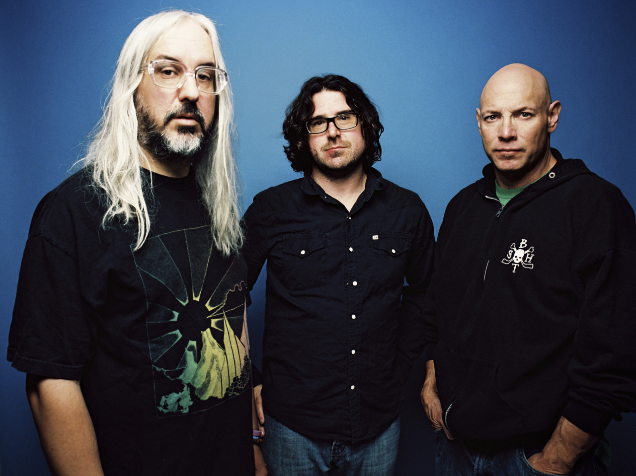 nprmusic:  Dinosaur Jr. sounds just as vital and intense as it did when it first formed 28 years ago. Hear the brawny rock trio play tracks from I Bet On Sky on World Cafe. Photo: Brantley Gutierrez