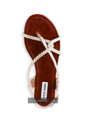 Steve Madden P-Kart Sandal - $37.46, Francesca's  I love Steve Madden shoes, and Francesca's has some really cute SM sandals for summer, all on sale for 25% off.