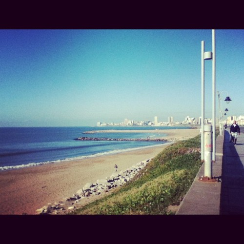 Un día 🌊⛅ #lacosta #beautiful #day #sun #mdq #light #beach #playa #city #lovely #nature #sea #naturelover #landscape #instagood #like #blue #sky #green