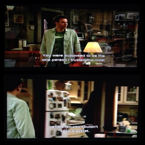 Having a HIMYM marathon.I can't believe how relevant this scene is.. Medyo masakit parin hanggang ngayon.