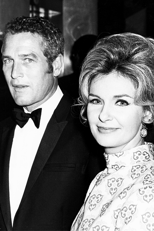 msmildred:  Paul Newman and Joanne Woodward during the 42nd Annual Academy Awards, 1970.