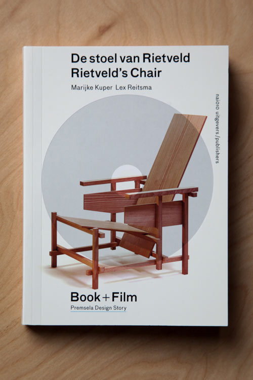Rietveld's ChairMarijke Kuper & Lex ReitsmaRietveld's Chair, the first in the Premsela Design Stores series on Dutch design history, provides a detailed look into the work of Dutch furniture designer and architect Gerrit Rietveld, from his early training as a cabinetmaker to the legacy of the Red-Blue Chair as an icon of Dutch design and symbol of the De Stijl movement. Now available after the popular first edition sold out in 2011, this book by Marijke Kuper—the world's leading expert on Rietveld's work—includes text in both English and Dutch as well as an accompanying DVD documentary by the book's designer, Lex Reitsma. [[MORE]]  The book is dense with precise information on Rietveld's construction techniques, an overview of all known examples of the chair, and additional facts on models, measurements, and colors. Yet the book and film together also frame Rietveld's work within a larger context, exploring his relationship to the De Stijl movement, and the impact of mechanization and automation in his ideas about design. Kuper portrays Rietveld's vision of a furniture object formed out of simple, distinct forms—a construction of lines, planes and voids that would together form a harmonious whole. The book and film show how Rietveld's visionary work pushed the boundaries between sculpture and functional object, and how his chair eventually emerged as an iconic work of art in the contemporary context of art auctions and museums.