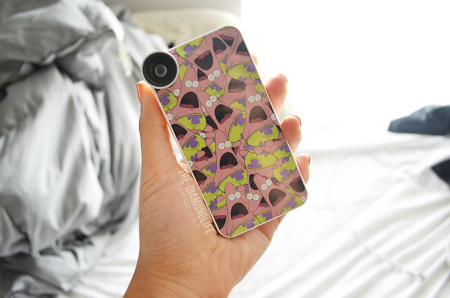 the-diamondlife:  Made this case and was planning on selling on my shop too but can't because of copyright, booooo! But now I get to rock this awesomeness personally and no one has the same one (;