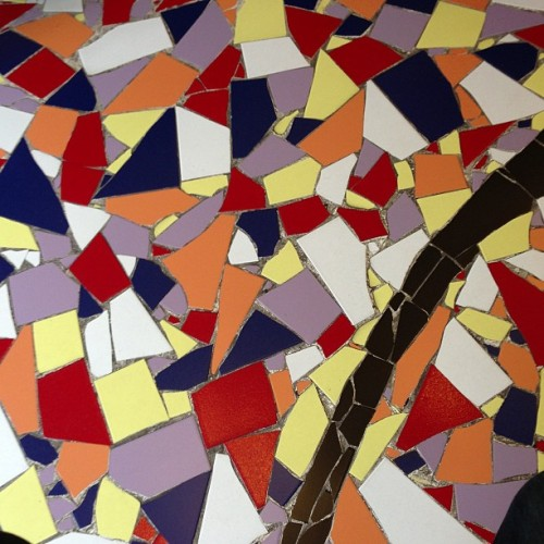 #floor #colors #milano #tattoo #tiles #mosaic (presso The Tattoo Shop)